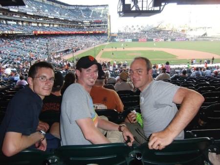 Bei einem Baseball-Spiel der San Francisco Giants 2010 (c) Rechenmacher