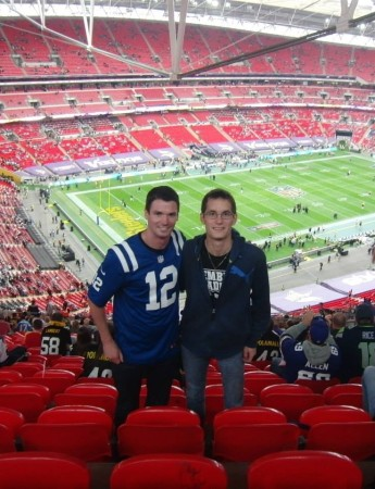 Im Wembley Stadion bei Minnesota Vikings vs. Pittsburgh Steelers 2013 (c) Rechenmacher